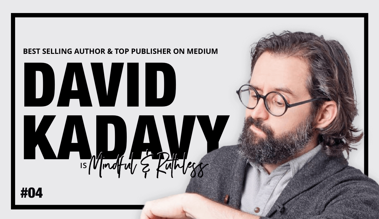Connecting to Our Curiosity (w/ David Kadavy — Best selling author)