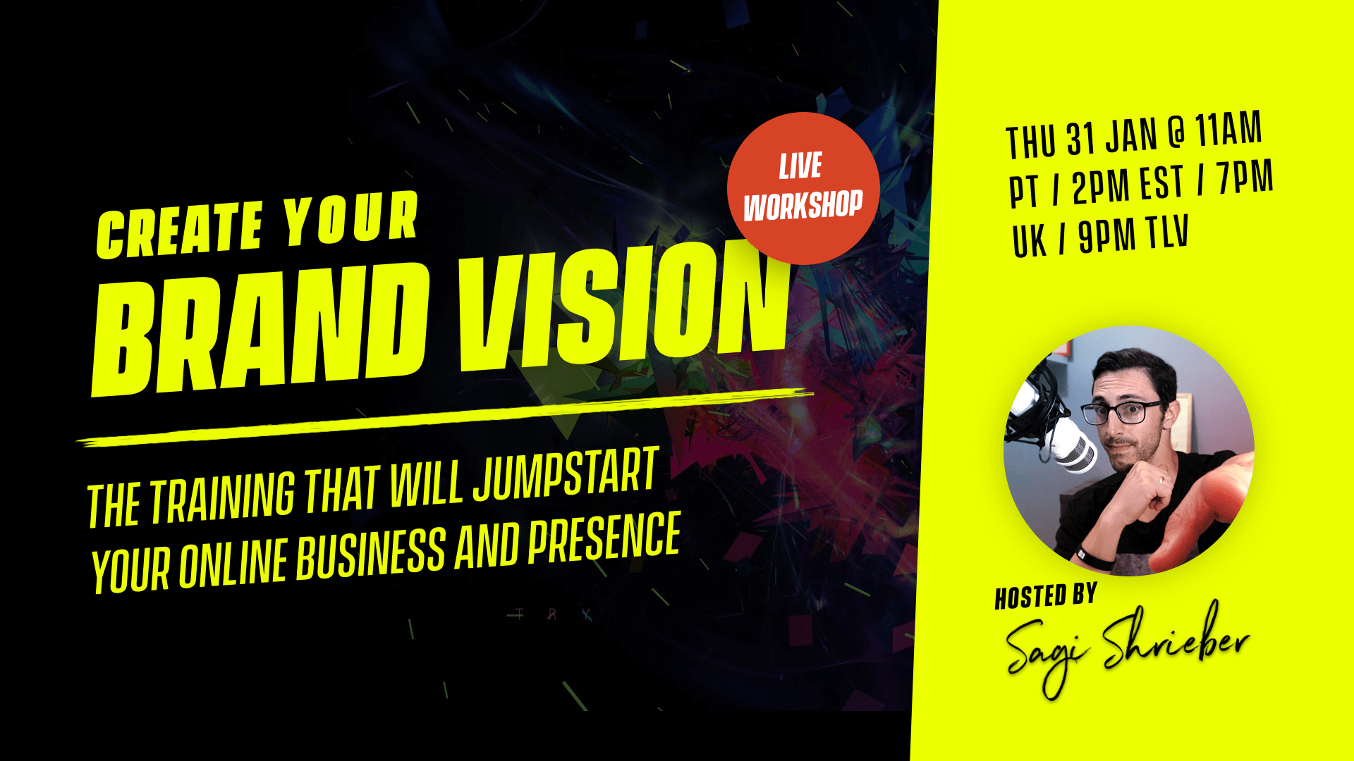 Build Your Brand Vision